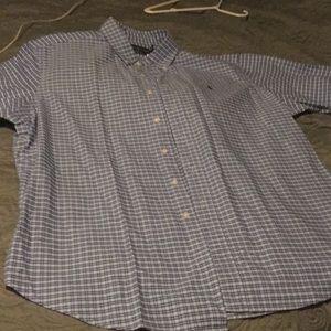 NWT Ralph Lauren short sleeved button down XXL